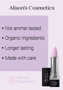 Alison's Cosmetics pamphlet A4